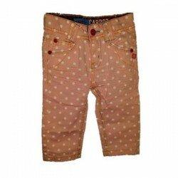 Jeans rosa prickiga Okaidi