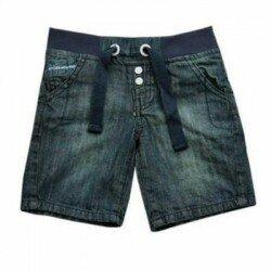 Jeans shorts Respect med mudd i midjan