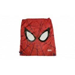 Spiderman gympapåse gymnastikpåse - röd