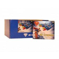 Superman, Stålmannen 40 st kritor och pennvässare