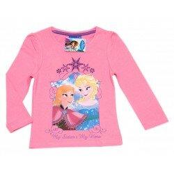 Disney Frozen Frost Tröja med Elsa och Anna - rosa