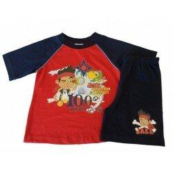 Jake och Piraterna pyjamas marin/röd