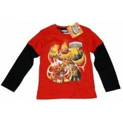 Skylanders giants tröja röd/svart
