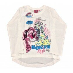 Monster high tröja vit