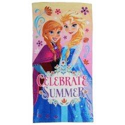 Disney Frozen Frost Badlakan,Handduk Anna och Elsa