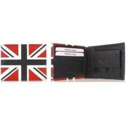 Union Jack plånbok läder Plånbok