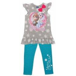 Disney Frozen Frost Tunika set med Anna och Elsa