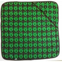 Småfolk Badcape, Handduk Badlakan med gröna äpplen