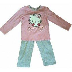 Hello Kitty Pyjamas, rosa/grå