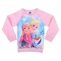 Disney Frozen Frost Sweatshirt Tröja med Elsa, Anna och Olaf