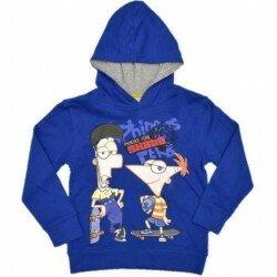 Phineas and Ferb tröja, huvtröja - blå