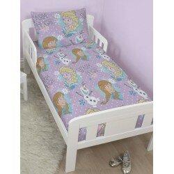 Disney Frozen Frost Bäddset, påslakanset till Junior säng