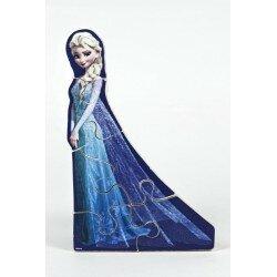 Disney Frozen Frost Trä Pussel med Elsa