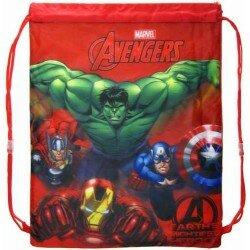 Marvel Avengers Gympapåse Hulken, Iron man mfl gymnastikpåse