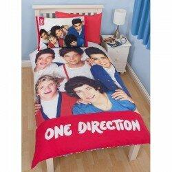 One Direction Bäddset, påslakanset Vändbart