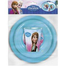 Disney Frozen frost Måltids set tallrikar och mugg 3 delar