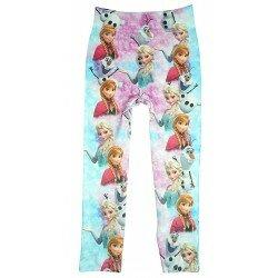 Disney Frozen Frost Leggings med Elsa, Anna och Olaf