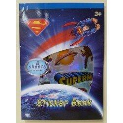 Superman, Stålmannen klistermärken
