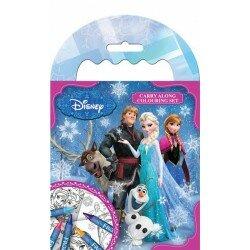 Disney Frozen Frost Målarbok med kritor