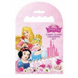 Disney Princess Målarbok med kritor