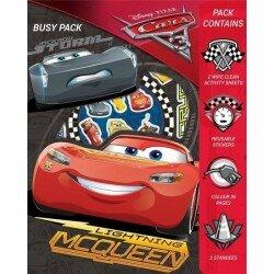 Disney Cars 3 Pysselbok Målarbok