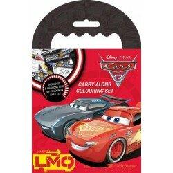 Disney cars 3 Målarbok med kritor