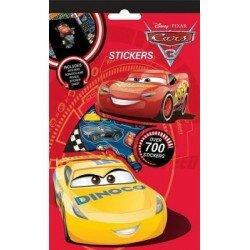 Disney Cars 3 Klistermärken 700 st